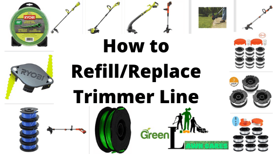 How to refill/replace trimmer line