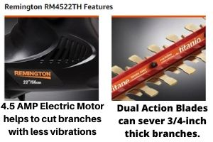 Remington RM4522TH features