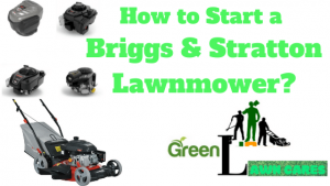 how to start a briggs and stratton lawnmower